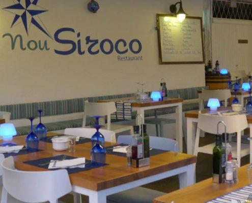 Nou Siroco restaurant Menorca